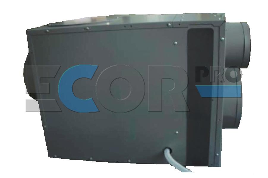 LD800 loft dehumidifier side view