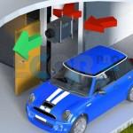 Garage dehumidifier