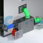 Cupboard dehumidifier by Ecor Pro