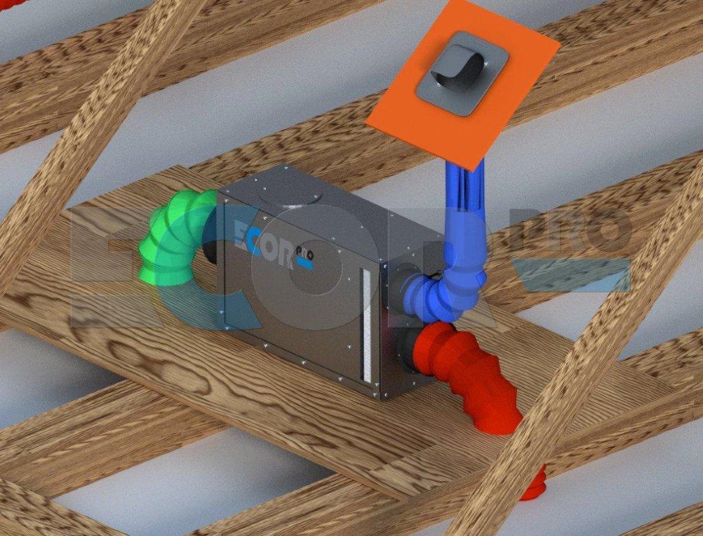 Heat Recovery Ventilator Amp Whole Home Dehumidifier Ld800