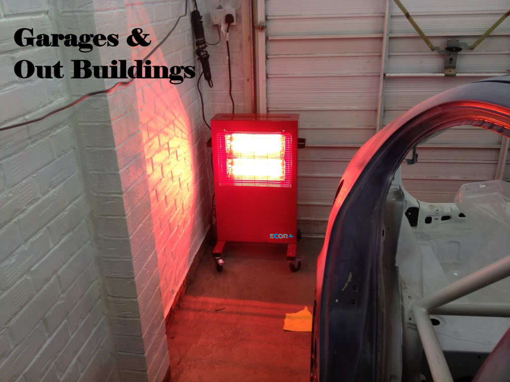 Big Red Heater ideal for garages