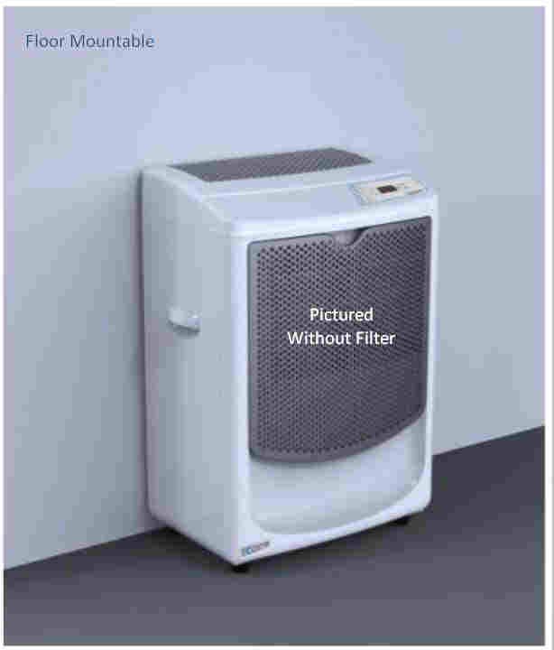 D9500 Wall Mount Or Free Standing Dehumidifier With