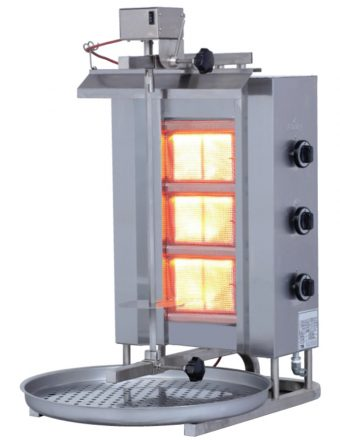 naomi grills kebab grill machine ECO3G