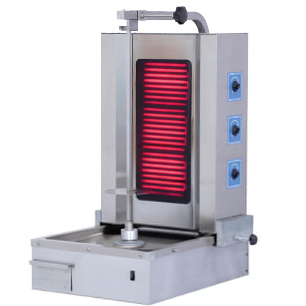 kebab grill machine ecu3e electric bottom motor ecor pro b v. Black Bedroom Furniture Sets. Home Design Ideas