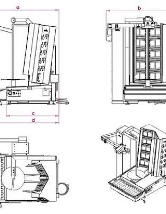 Doner kebab robot grill machine dimensions