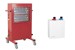 electric air & water heaters by ecor pro