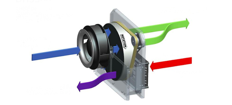 dehumidifier 4 hole system Ecor Pro