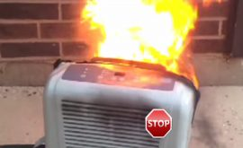 dehumidifier fire prevention