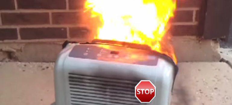dehumidifier fire prevention